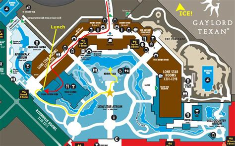 opryland hotel layout map 20131218 ice at the gaylord texas hotel
