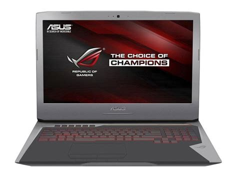Asus Rog G752vt asus g752vt dh72 notebookcheck it