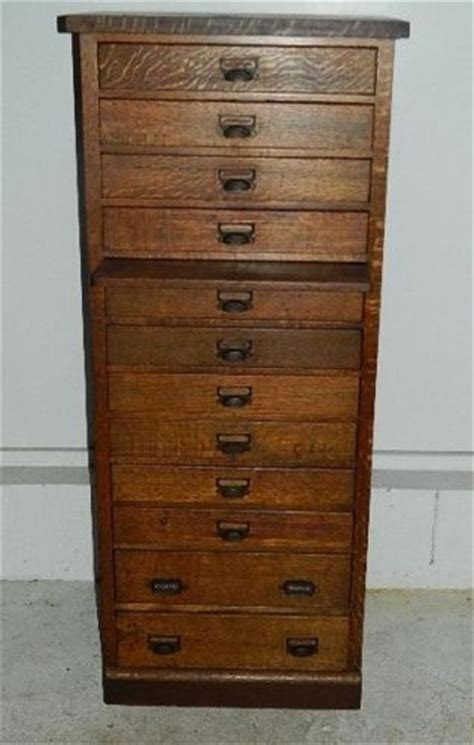 Antique Map Cabinet by Antique Oak 12 Drawer Map Chest Jeweler Watchmaker Cabinet