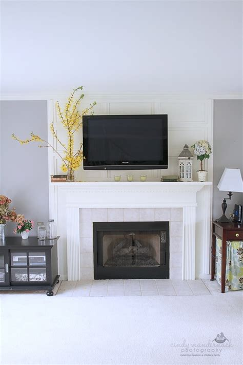 tv fireplace simply home inspiration