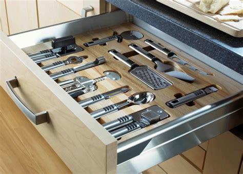 Rangement Ustensiles Tiroir by 1001 Id 233 Es Pour Un Rangement Placard Cuisine Rangement
