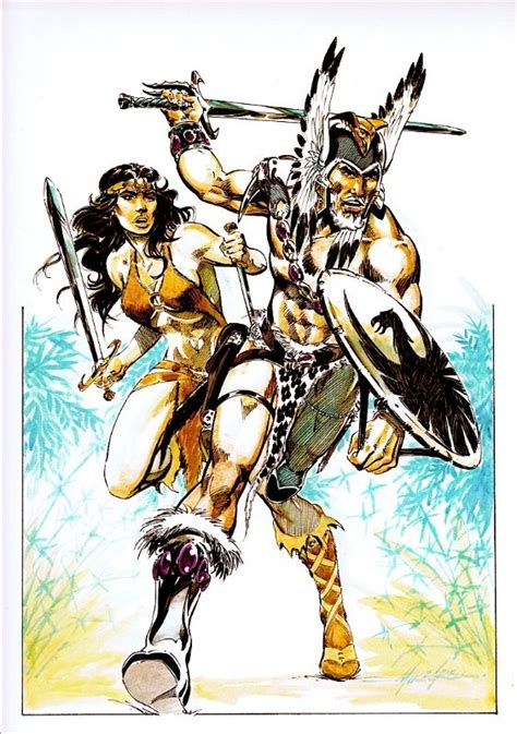 dc universe by mike b0722zp5c5 the warlord travis tara comic art mike grell comic dc comics art and comic