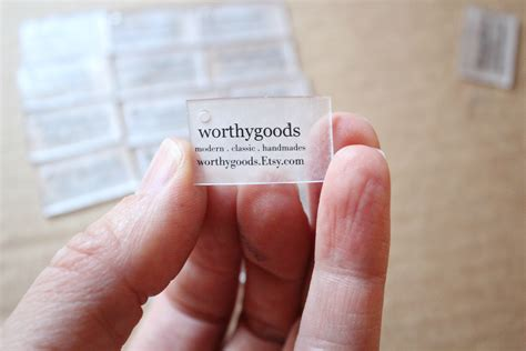 quick project hang tags from shrink plastic shrinky