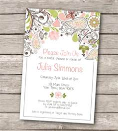 bridal shower invitation template free printable free printable rustic wedding invitation templates