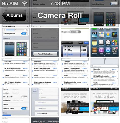 an overview of ios 6 collection view and flow layout ios 6では後ろの画面をぼかさずに表示した 改善 ios 7のuiは本当にいいの 改悪