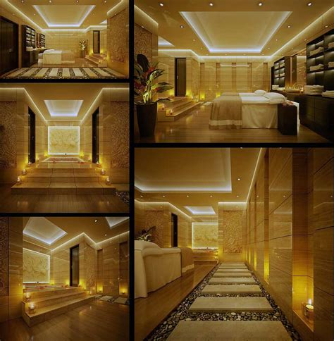 amazing home interiors beautiful ceiling lighting spa indoor zen garden