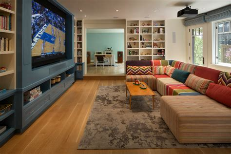 family tv room on inspirationde family tv room with modular sofa family room contemporary