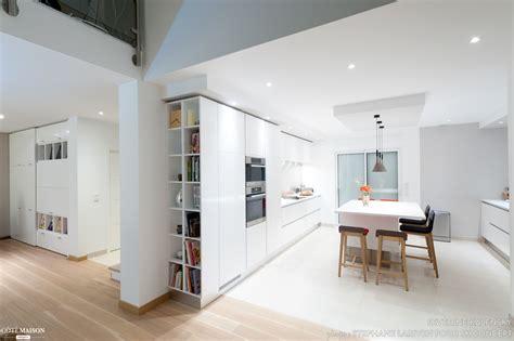 projet cuisine design italien total look blanc avec 238 lot