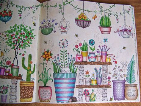 secret garden coloring book markers 323 best images about coloring books colored on