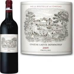 ch 226 teau lafite rothschild pauillac 2009 vin
