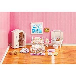 amazoncom calico critters deluxe floral bedroom set
