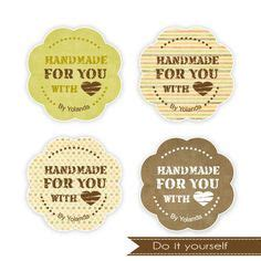 Handmade For You Labels - 1000 images about crochet packaging on gift