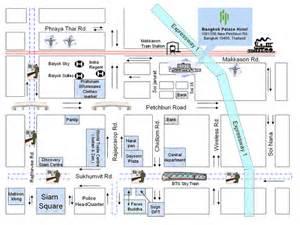 Hotels in bangkok city map bangkok