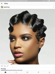 soft waves for black hair best 25 finger waves short hair ideas on pinterest