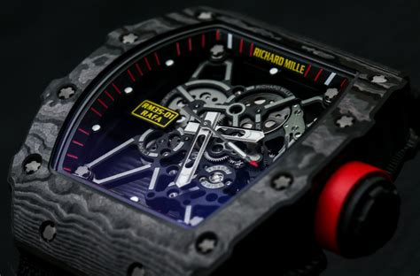 Ntpt Carbon Limited Edition Movement Custom Modified Swiss 7750 F 1 richard mille rm 35 01 rafael nadal ntpt carbon on most popular luxury watches