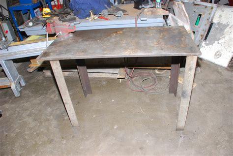 48 quot x 24 quot x 32 quot welding table 0 75 quot top w craftsman