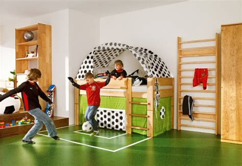 Football Room Decor by Football Theme For Cool Room Soccer Bedroom Theme Green Car Interior Design
