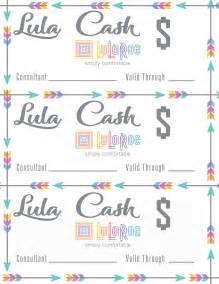 lula cash template