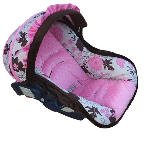 chicco keyfit 30 car seat cover pattern n 246 lliecovers quot baby pink tessa quot infant seat cover
