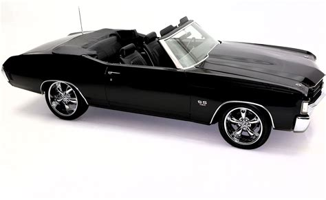 black convertible cars 1972 chevrolet chevelle convertible black 454ci 4 speed