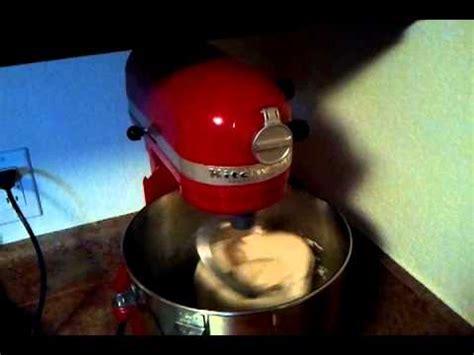 Noisy KitchenAid Professional 600 Stand Mixer   YouTube