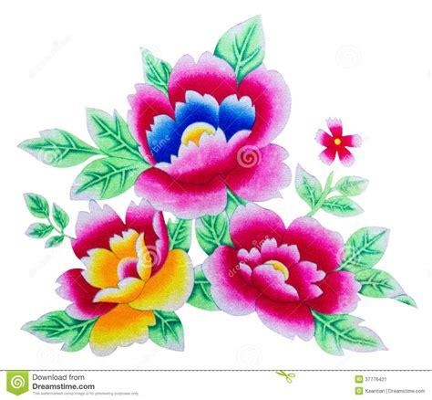 imagenes de uñas pintadas flores flores de los aislantes pintadas imagen de archivo