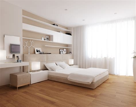 bed room designs style in simplicity visualized