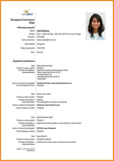 Modelo Curriculum Vitae Net 7 curriculo pronto word musicre sumed