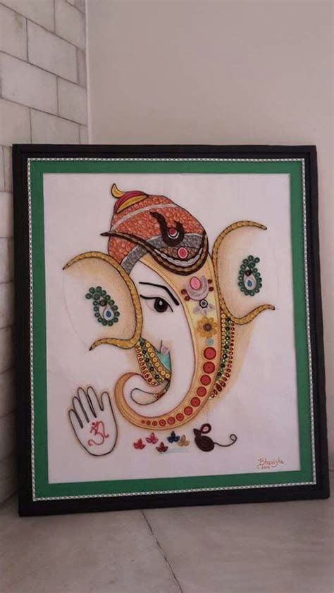 quilling ganesha tutorial 7 best quilling ganesha images on pinterest quilling