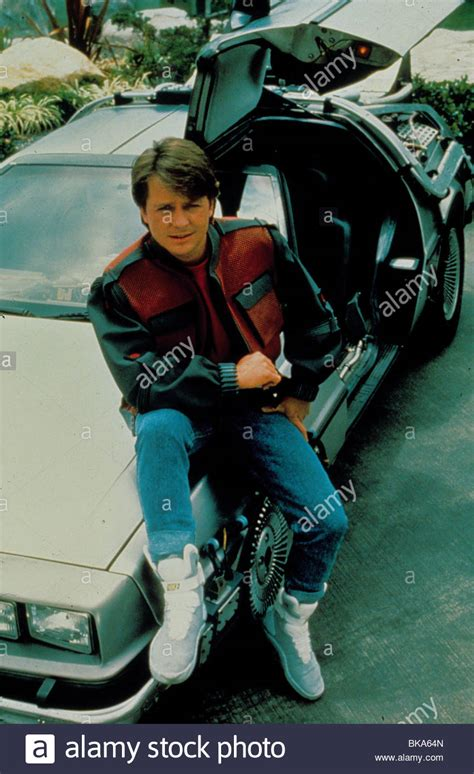 michael j fox back to the future 2 back to the future part ii stock photos back to the