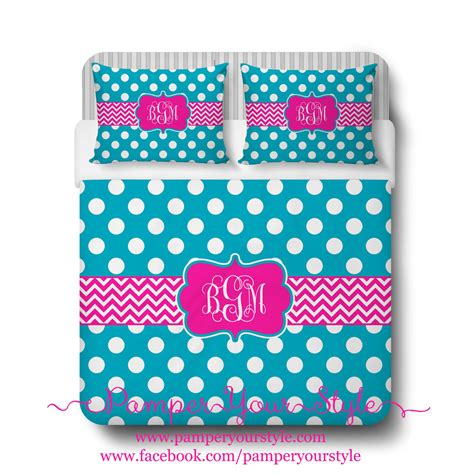 pink and turquoise bedding polka dot and chevron turquoise and hot pink bedding duvet