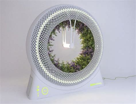 indoor garden technology spinning wheel planter is an ideal space age indoor garden gadgets science technology
