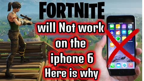 will fortnite be available on iphone 6 fortnite not working on iphone 6 update