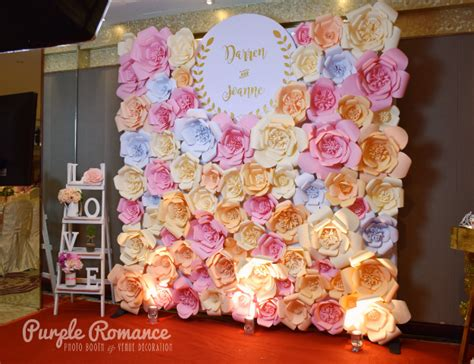 backdrop design malaysia giant paper flower backdrop at hee lai ton kuala lumpur
