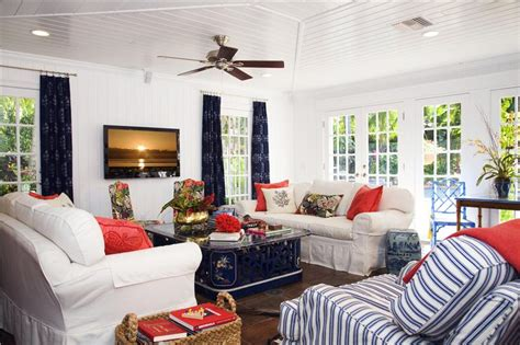 red blue room red white and blue interior design