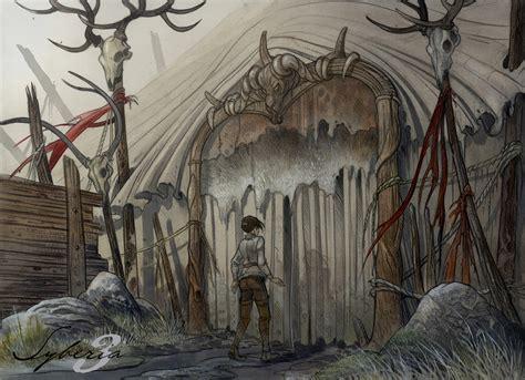 toutes les artworks de syberia  planete aventure