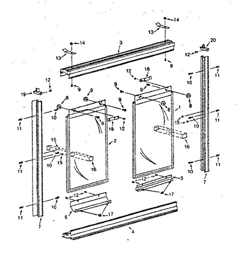 4 Best Images Of Shower Parts Diagram Shower Faucet Shower Door Frame Replacement