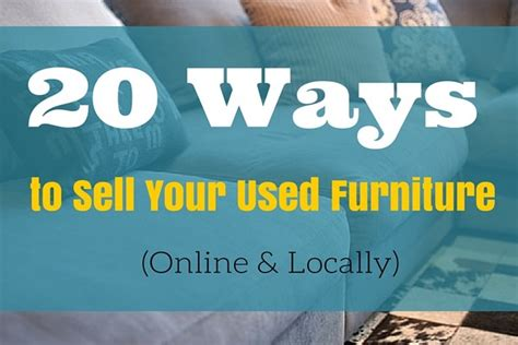 places  sell   furniture fast  locally moneypantry
