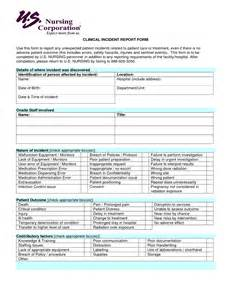 Patient Report Form Template by Best Photos Of Patient Incident Report Form Patient