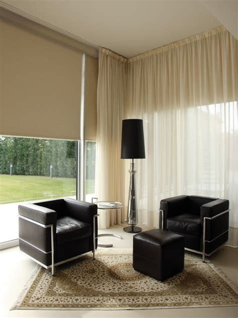 contemporary window treatments for living room window treatments modern living room miami by kathryn interiors inc