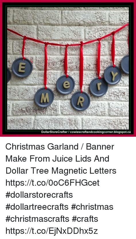 dollar tree christmas letters dollarstorecrafter cowiescraftandcookingcornerblogspotca garland banner make from