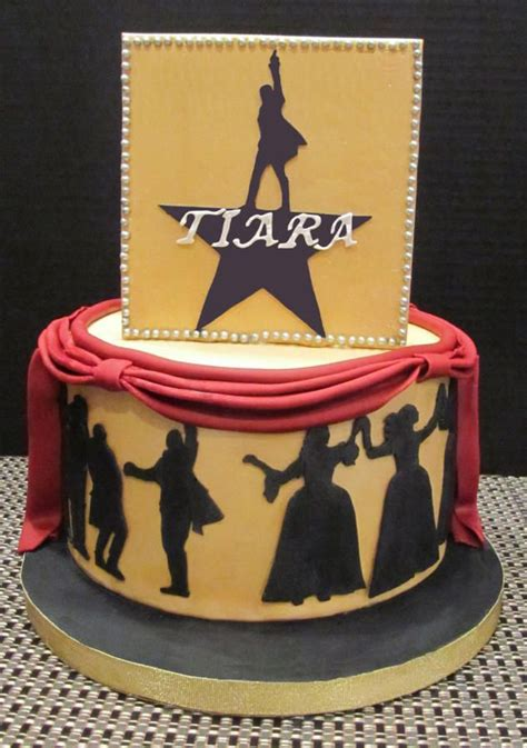 themed birthday cakes alberton broadway musical hamilton cake cake by