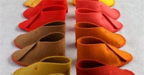 Sandal Motif Flanel cara membuat kerajinan tangan dari kain flanel sepatu bayi berikut ini cara membuat
