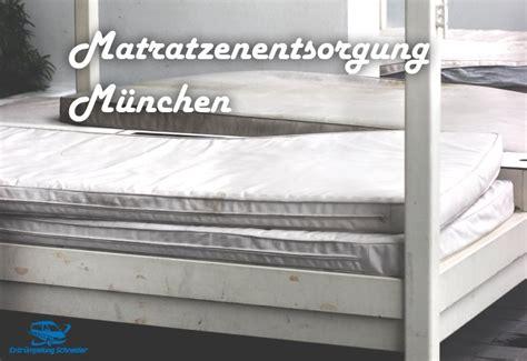 alte matratzen entsorgen alte matratzen entr 252 mpelung schneider