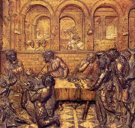 Il Banchetto Di Erode by Donatello 1386 1466 Progettostoriadellarte