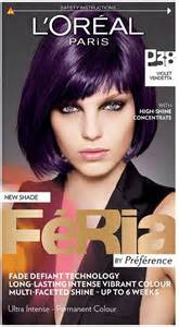 feria hair color purple anyone used l oreal feria