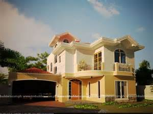 House Designs Mediterranean House Design Cm Builders