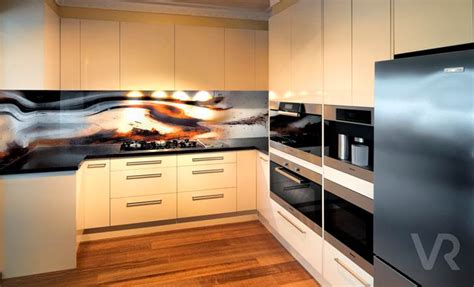 Colour Ideas For Kitchen Kitchen Glass Splashbacks Guide Rosemount Kitchens