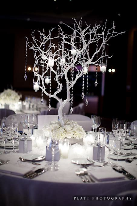 tree centerpieces ideas winter centerpieces on winter