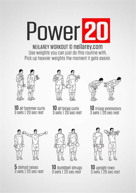 power 20 workout by neilarey